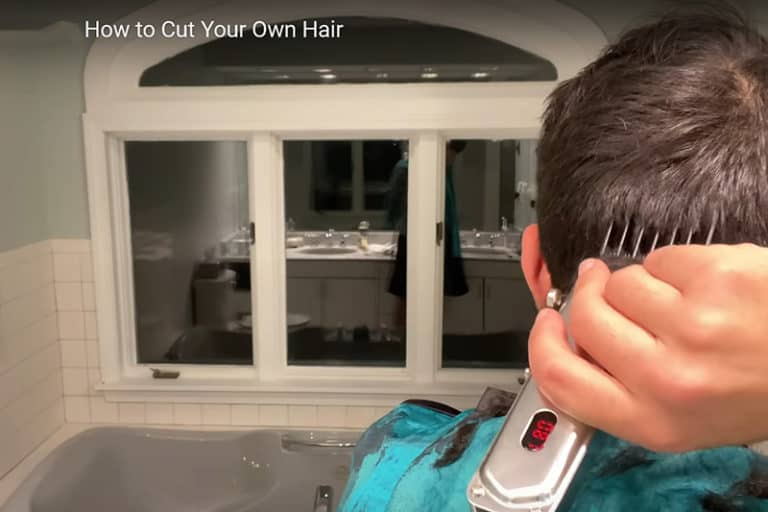 How to Cut Your Own Hair Short with Clippers