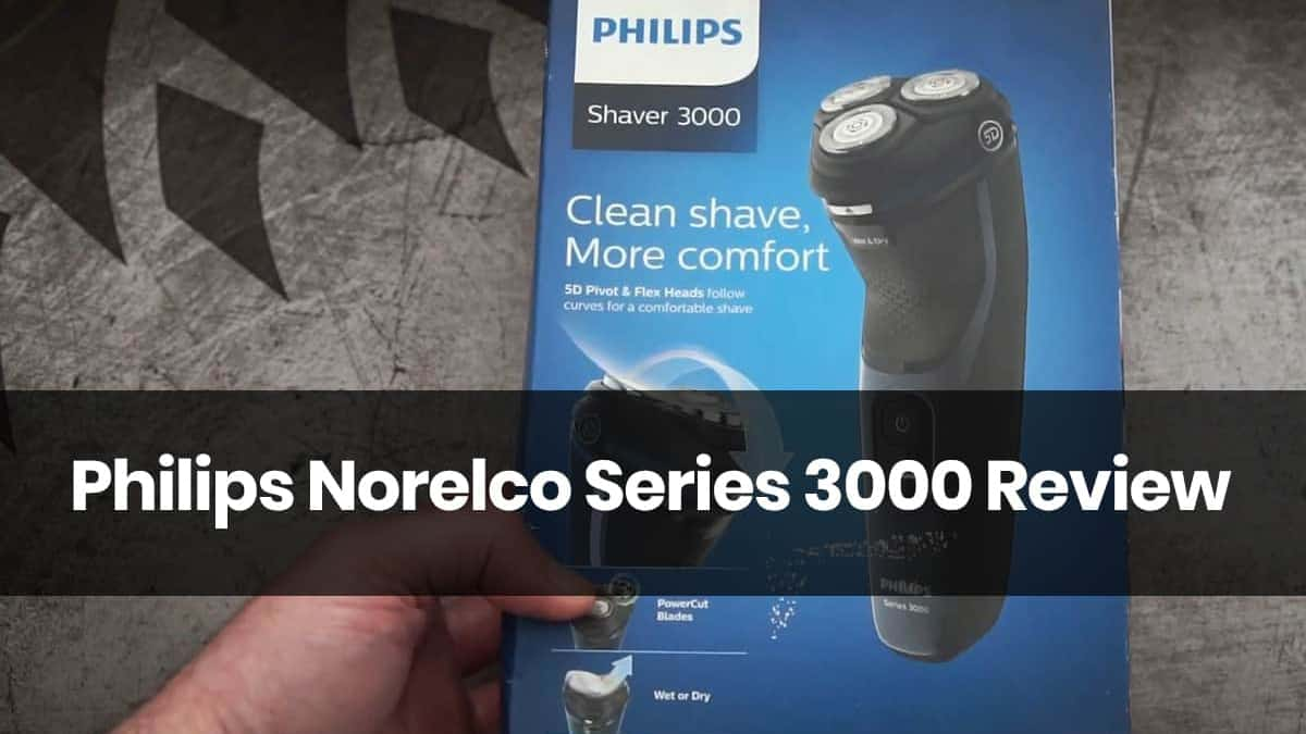 Philips Norelco Series 3000 Review & S3560/81 & PT720/17
