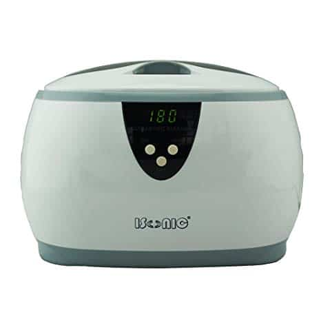 iSonic D3800A Digital Ultrasonic Cleaner for Jewelry