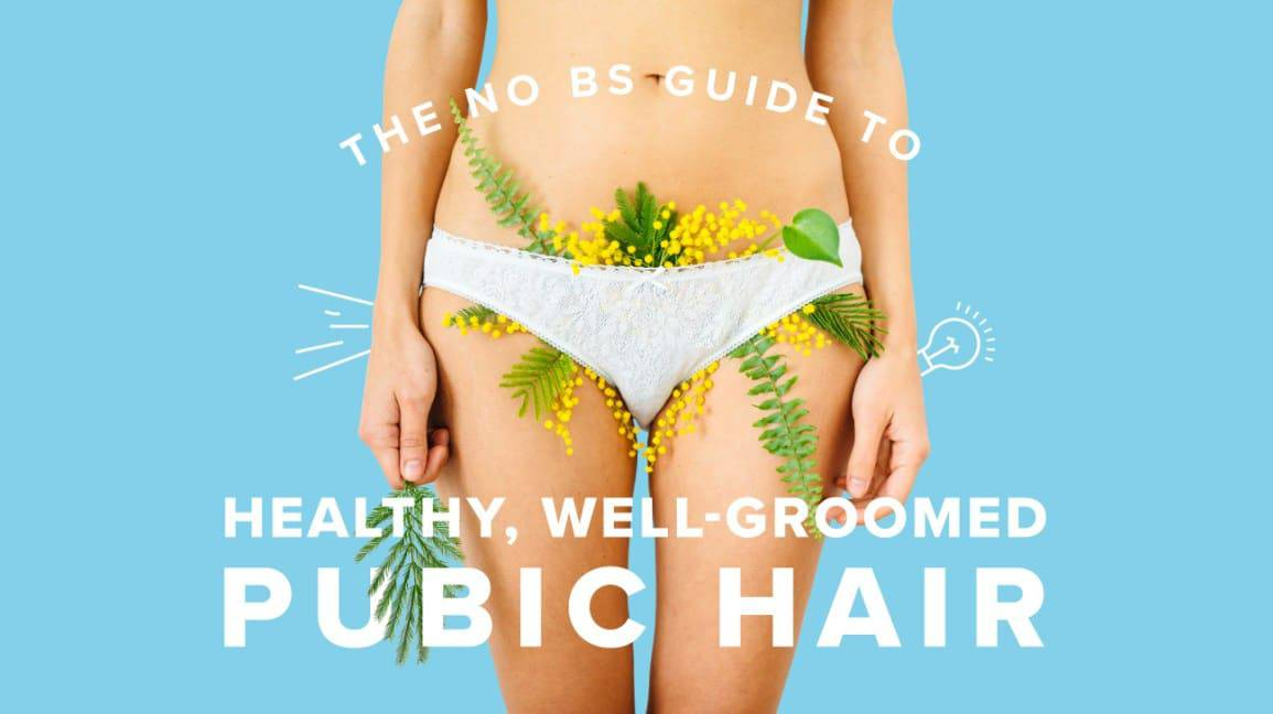 The benefits of having your pubic hairs trimmed