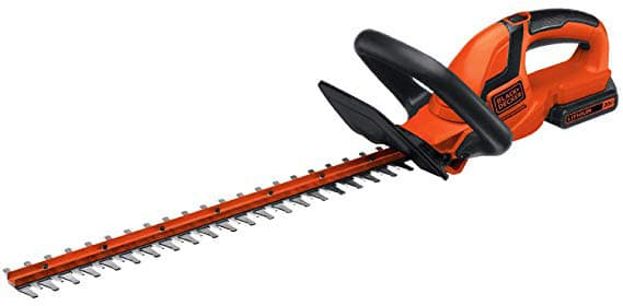 ​B​lack D​ecker 20V Lithium Ion Hedge Trimmer On Amazon