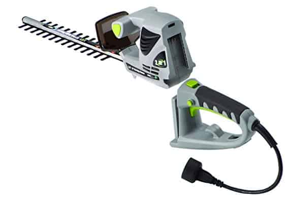 Earthwise Corded Electric 2-in-1 Pole and Handheld Hedge Trimmer