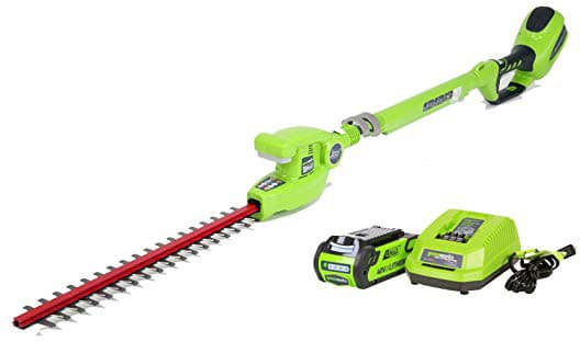 Greenworks Cordless Pole Hedge Trimmer