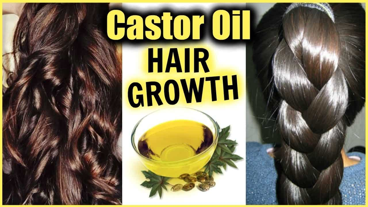 how growth thicker hair with Castor Oil