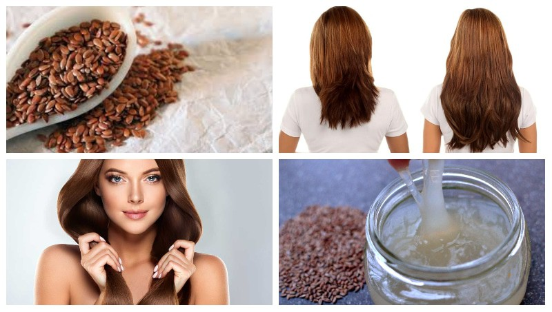 how growth thicker hair with Flaxseed