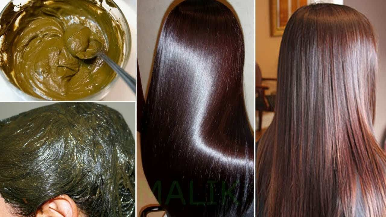 how growth thicker hair with Henna Leaves