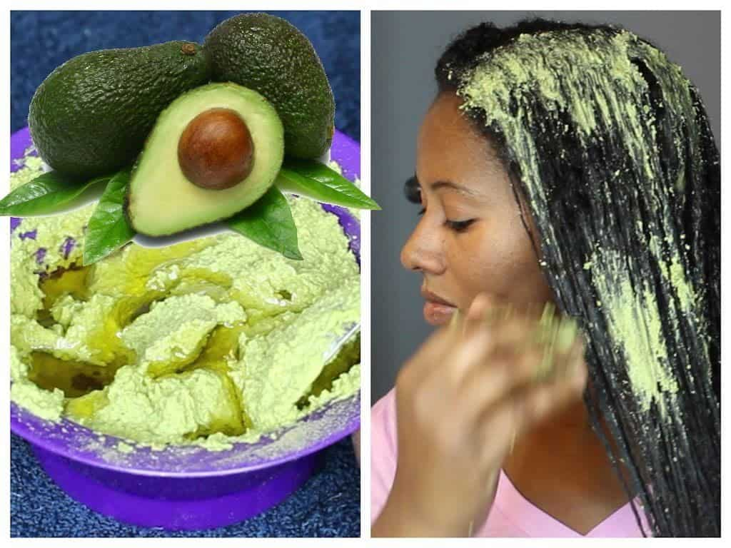 how growth thicker hair with Avocado