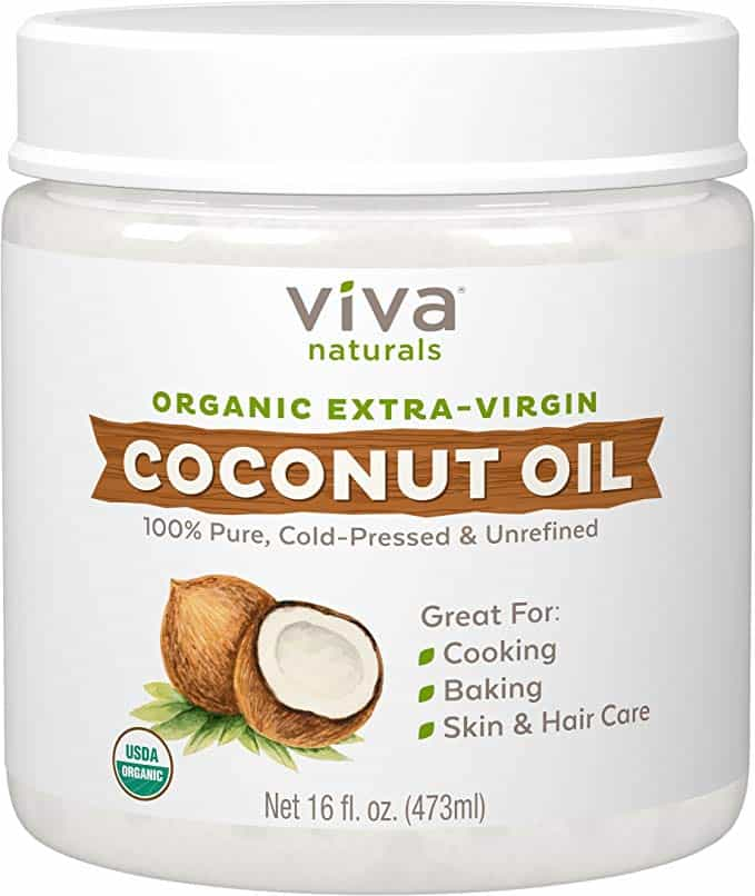 Viva Naturals Organic Extra Virgin Coconut Oil With 16 Ounce