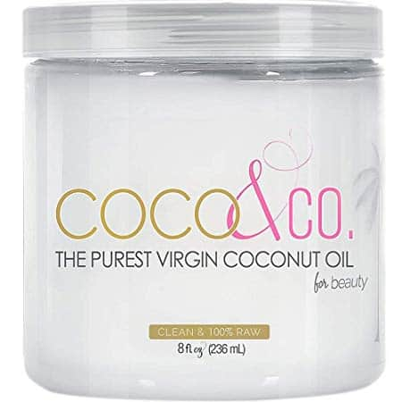 Organic Pure Coconut Oil for Hair & Skin By COCO&CO
