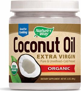 Nature's Way Organic Pure Extra-Virgin Coconut Oil